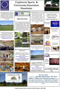 CSCA Pavilion & Sportsfield News August 2016